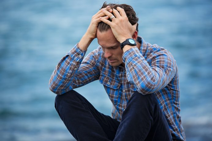 Anxiety and addiction leads to self-medicating to deal with stress