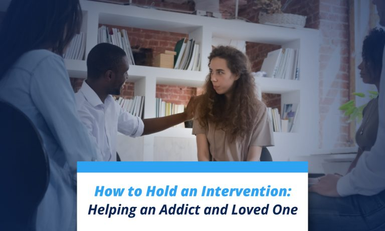 How to hold an intervention: helping an addict