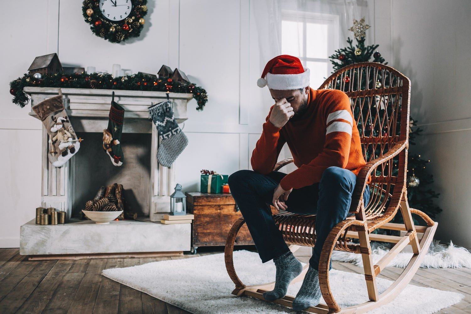 Recovering addict struggling during the holidays