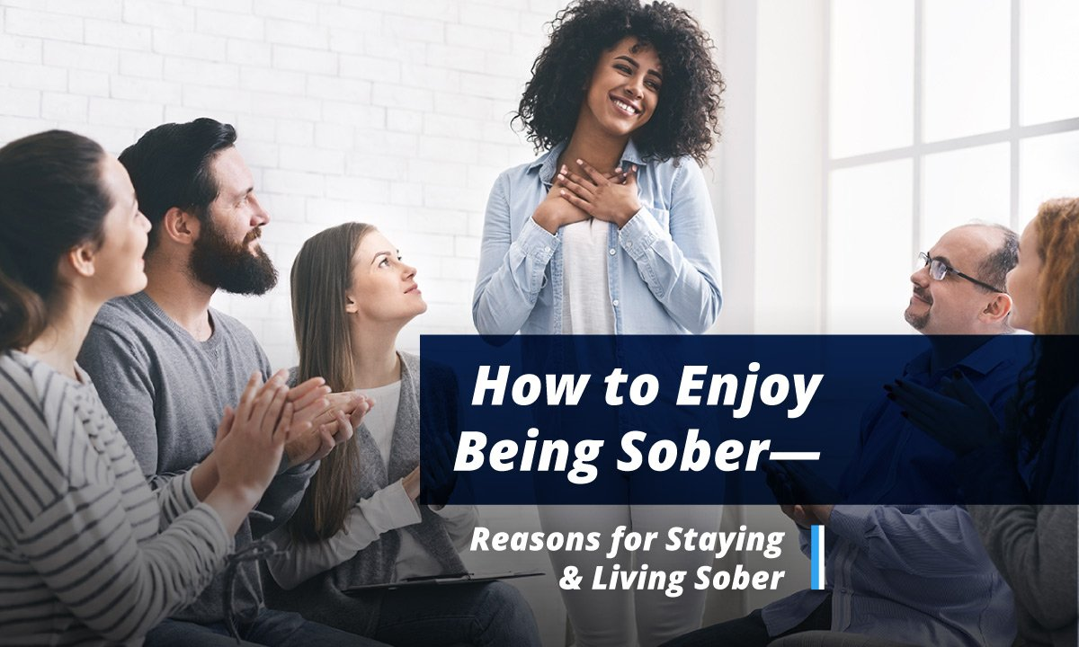how to enjoy being sober