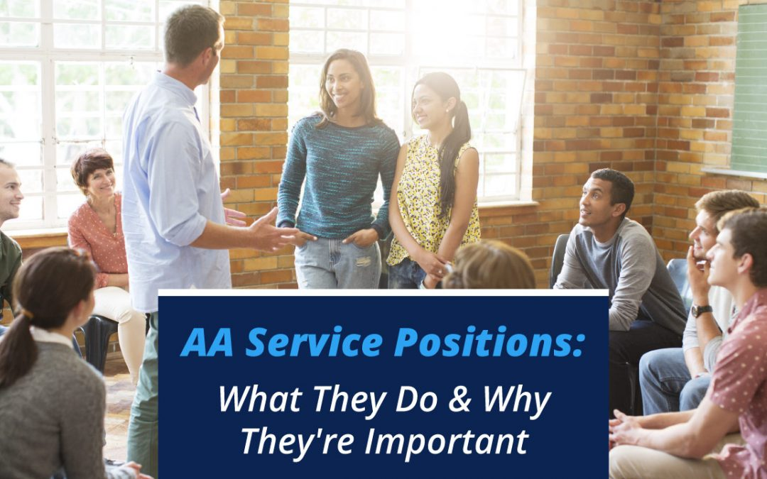 AA Service Positions: What They Do & Why They're Important